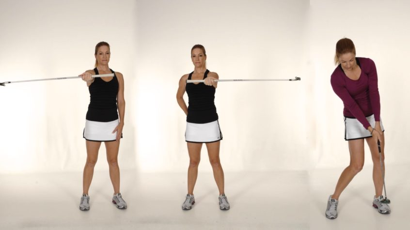 Wrist and Hand Rotation with Club