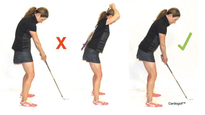 Posture Test for Golf - CardioGolf