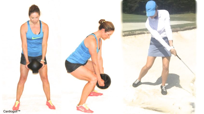 Squat with Medicine Ball with Squat