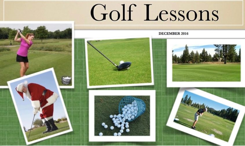 Holiday Golf Package Available