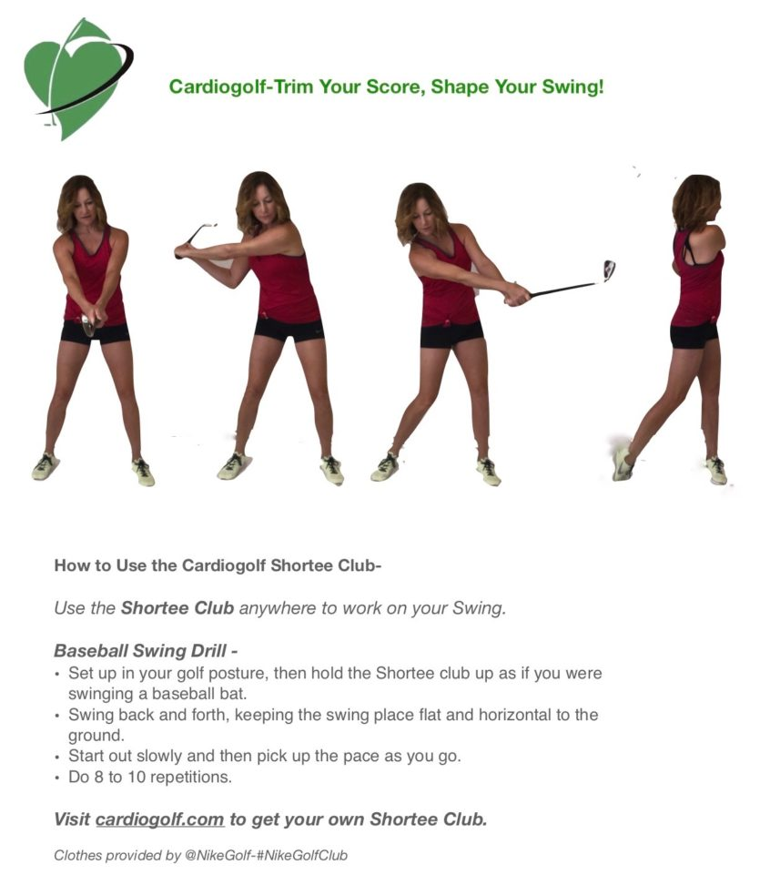 50 Cardiogolf Drills And Exercises With The Shortee Club