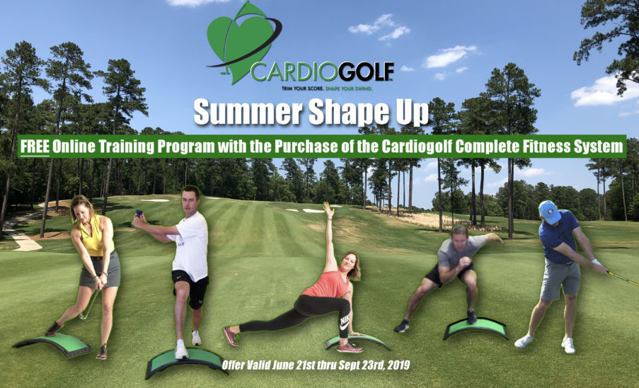 Cardiogolf Summer Shape Up